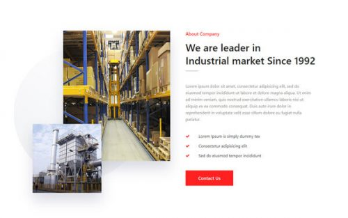Combo – Leading Industrial Company About Widget
