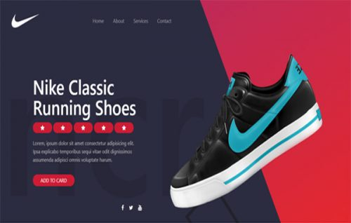 Walk the Trend – Cool E-commerce Stylist Banner Widget