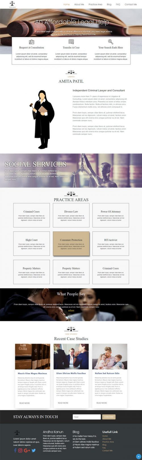 Lawyer Profile