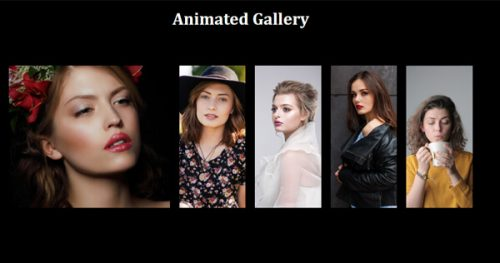 Poser – Animated Gallery Widget