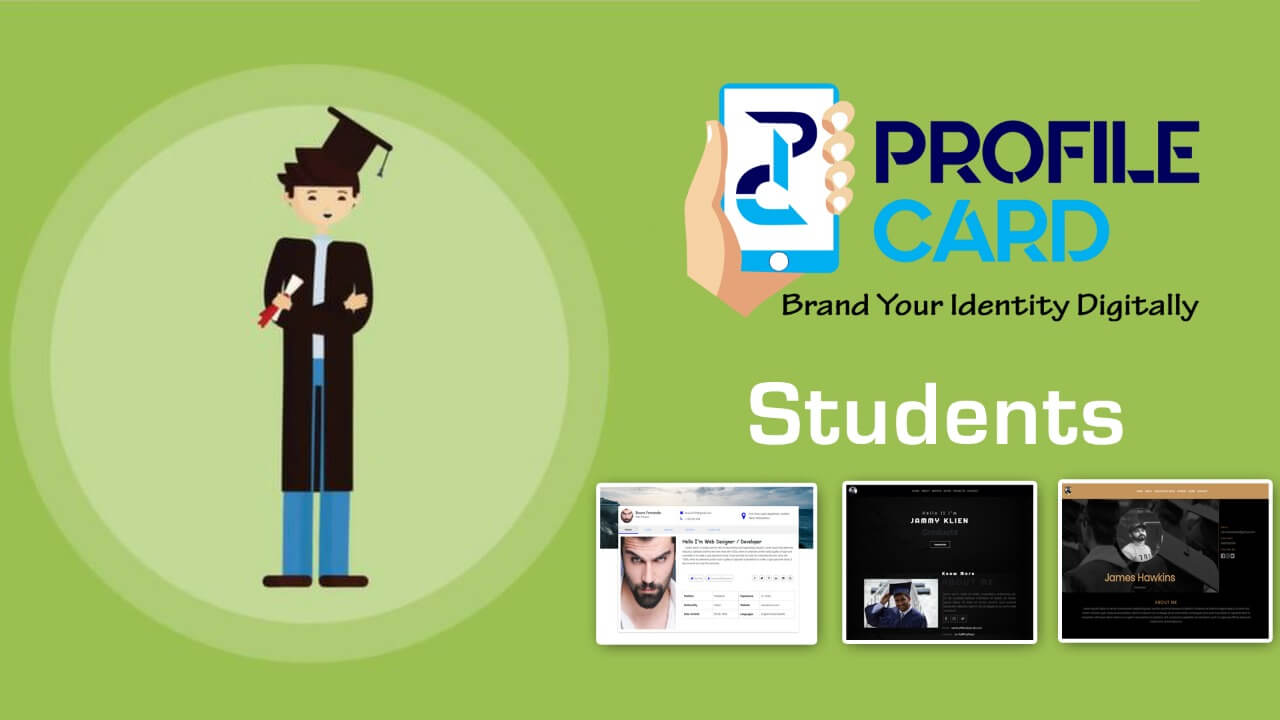 Profilecard for Students